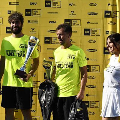 Grande successo della GDB Padel Cup a Brescia